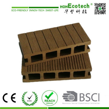 WPC terrazas y terraza Natural sensación compuesto plástico de madera Decking Board