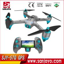 PK Bayangtoys X16 CG035 GPS Drone más nuevo GPS Wifi FPV con la función de órbita de la cámara 720p SJY-57G GPS