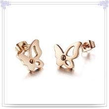 Accesorios de moda Pendiente de moda de joyería de acero inoxidable (EE0070)