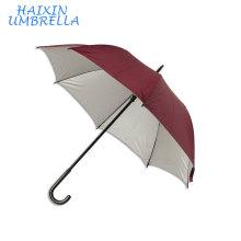 Объявления 58,5 см 8к ручной пользовательские углеродного волокна горячая продавая Выдвиженческое печатание фирменное наименование дешевые дождь рекламируя прямой зонтик
