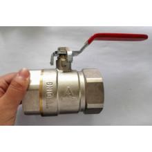 Válvula de esfera sanitária da água de bronze do encanamento com preço de fábrica (YD-1021-1)