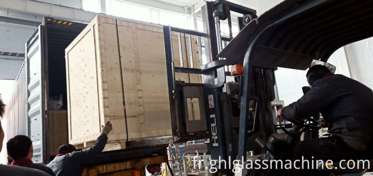 Hollow Glass Two Part Machine