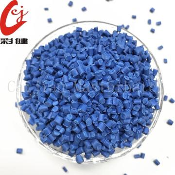 Blue+Non-halogen+Cable+Masterbatch+Granules