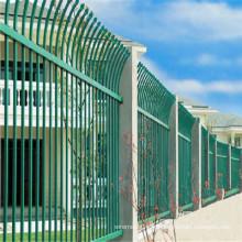Clôture en treillis métallique galvanisé protecteur de Villa / vert de haute qualité