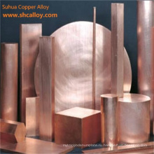 Cucrzr Chromium Zirconium Alloy Copper Rods