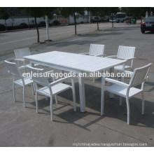 Garden patio outdoor WPC furniture