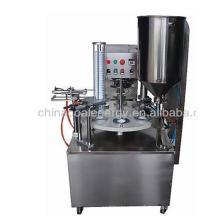 KIS-900 semi-automatic rotary Cup Filling Sealing Machine