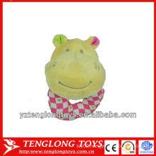 Sounding baby plush toy animal shaped plush baby toy