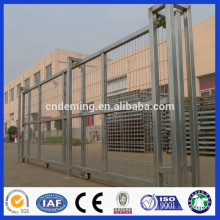 DM High quality direct professional supplier ISO factory low price mild metal sliding garden gate