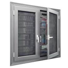 Aluminum decorative window security bars