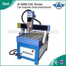 Billige Werbung CNC-Fräse Graviermaschine für Holz, Stein, Glas, Metall