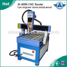 Publicidade barata router cnc gravura máquina para madeira, pedra, vidro, metal