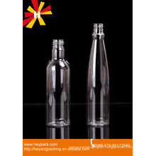 long and thin pouring cap plastic bottle