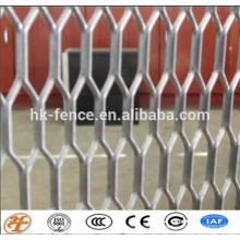 galvanisé / peint / acier inoxydable / aluminium a augmenté le treillis métallique usine
