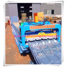 Azulejo esmaltado automático de alta eficiencia 820 rollo formando equipo automático