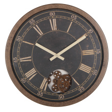 Retro 16 Inch Rustic Gear Reloj de pared