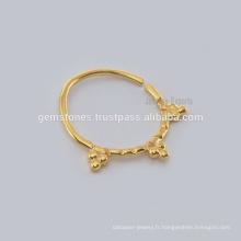 Vente en gros de bijoux en forme de diamant à anneaux de noisette en Inde, en gros