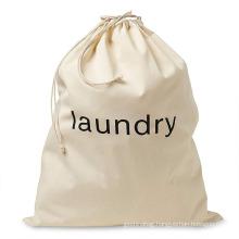 china custom eco-friendly large natural cotton heavy duty wash laundry bags canvas laundry bag