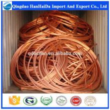 Vente chaude de haute qualité scrap cuivre / fil de cuivre à vendre avec un prix raisonnable et une livraison rapide !!