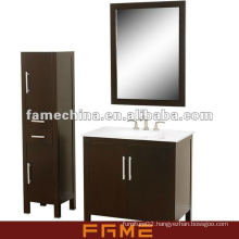 2013 New Design Floor Standing Classical Solid Wood Bath Cabinet(FM-S002)