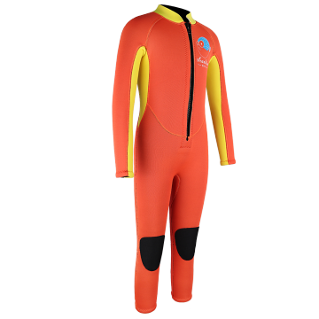 Seaskin Yellow Front Zip Diving Wetsuit βάρη