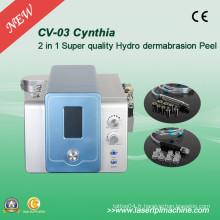 2 en 1 Facial Diamond Hydro Dermabrasion Skin Clean Beauty Machine CV-03