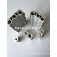 Perfis de extrusão de alumínio personalizados
