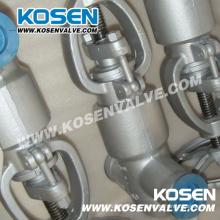 Válvula de globo de selo de pressão forjado (PJ61Y - 2500 lbs)