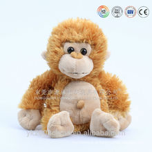 2016 best selling tamanho grande brinquedo macaco de pelúcia com banana