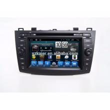 Kaier андроид 7.1 Qcta ядро DVD-плеер автомобиля/автомобильный радиоприемник DVD-плеер для Mazda 3 2010-2011 с Bluetooth,МЖК ,телевизор