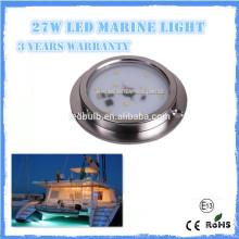High Quality 27w IP68 LED underwater Light, SS 316 LED Yacht, Boat, Marine Light