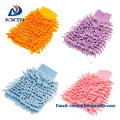 Microfiber Car Cleaning Glove with Fiber Terry Cloth
