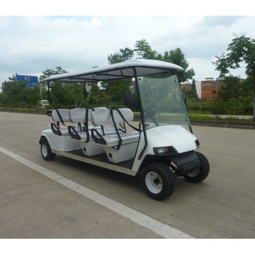 4 stroke fuel sightseeing car / 6 seat fuel golf cart