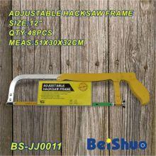 Adjustable Hacksaw Frame with Folding Steel