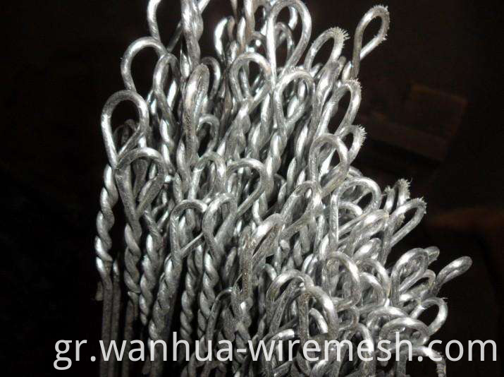 Galvanized Wire Quick link Bale Ties