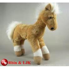Treffen Sie EN71 und ASTM Standard ICTI Plüsch Spielzeug Fabrik Pferd Tier Plüschtiere