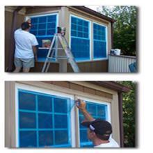 Película protectora para vidrio de Windows