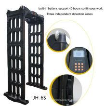outdoor portable door frame metal detector,portable scanner