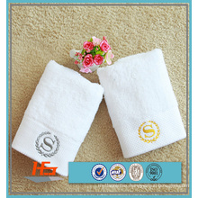Custom Embroidery Logo Hotel Face Towel / Towel Set