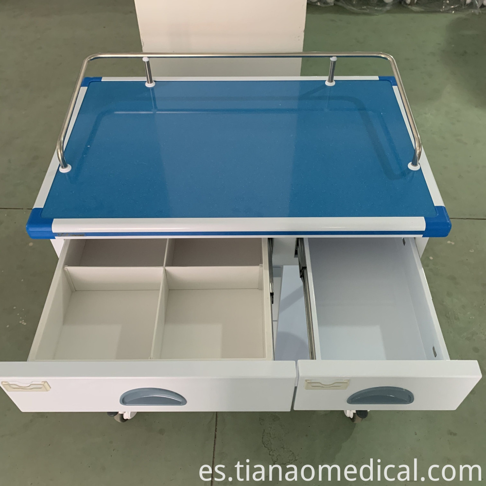Medical Aluminum Treatment Trolley