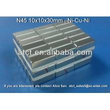 Starke N52 Neodym Quadermagnete