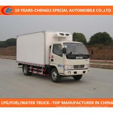 Dongfeng 4X2 Freezer Van Caminhão Frigorífico Caminhão Refrigerado