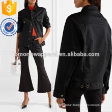 Oversized Denim Jacket Manufacture Wholesale Fashion Women Apparel (TA3030C)