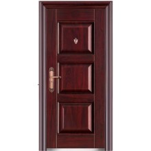una puerta de acero de precio más baja de alta calidad