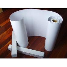 Folha de PVC em relevo branca para impressão