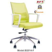 Mobiliário de escritório moderno giratório de móveis de malha com braços ajustáveis (B2014-F)