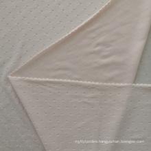 Xue hua piao piao fabric 72 nylon 28 spandex super soft underwear fabric jacquard snow dots