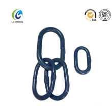 Alloy steel power ring master link assembly