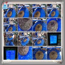 máquina de perfuração de madeira / máquina da escova do disco / máquina de madeira da broca