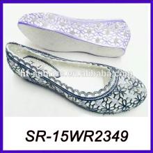 Mujeres italianas del aire del pvc calzan las zapatos de las mujeres de China de las mujeres del zapato de la fábrica